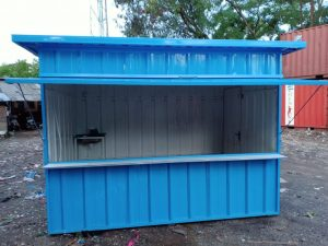 harga booth container custom