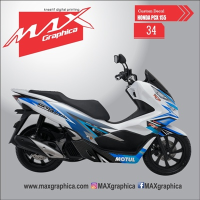 sticker decal pcx 150 sidoarjo